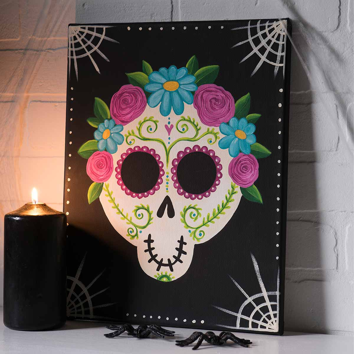 Day of the Dead Gentleman Painting