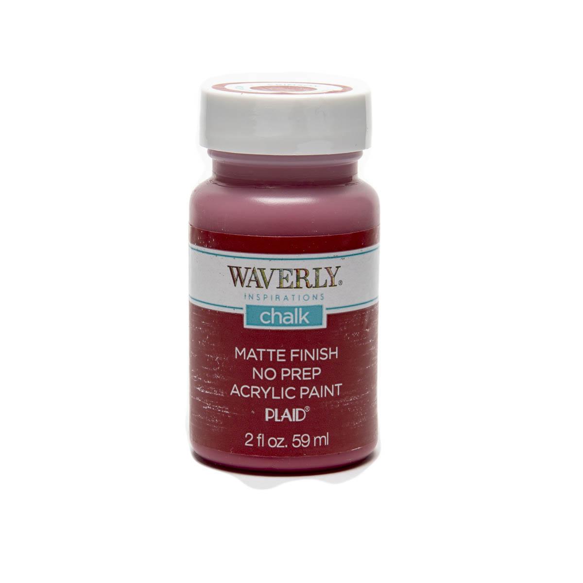 Waverly ® Inspirations Chalk Finish Acrylic Paint - Crimson, 2 oz. - 60742E