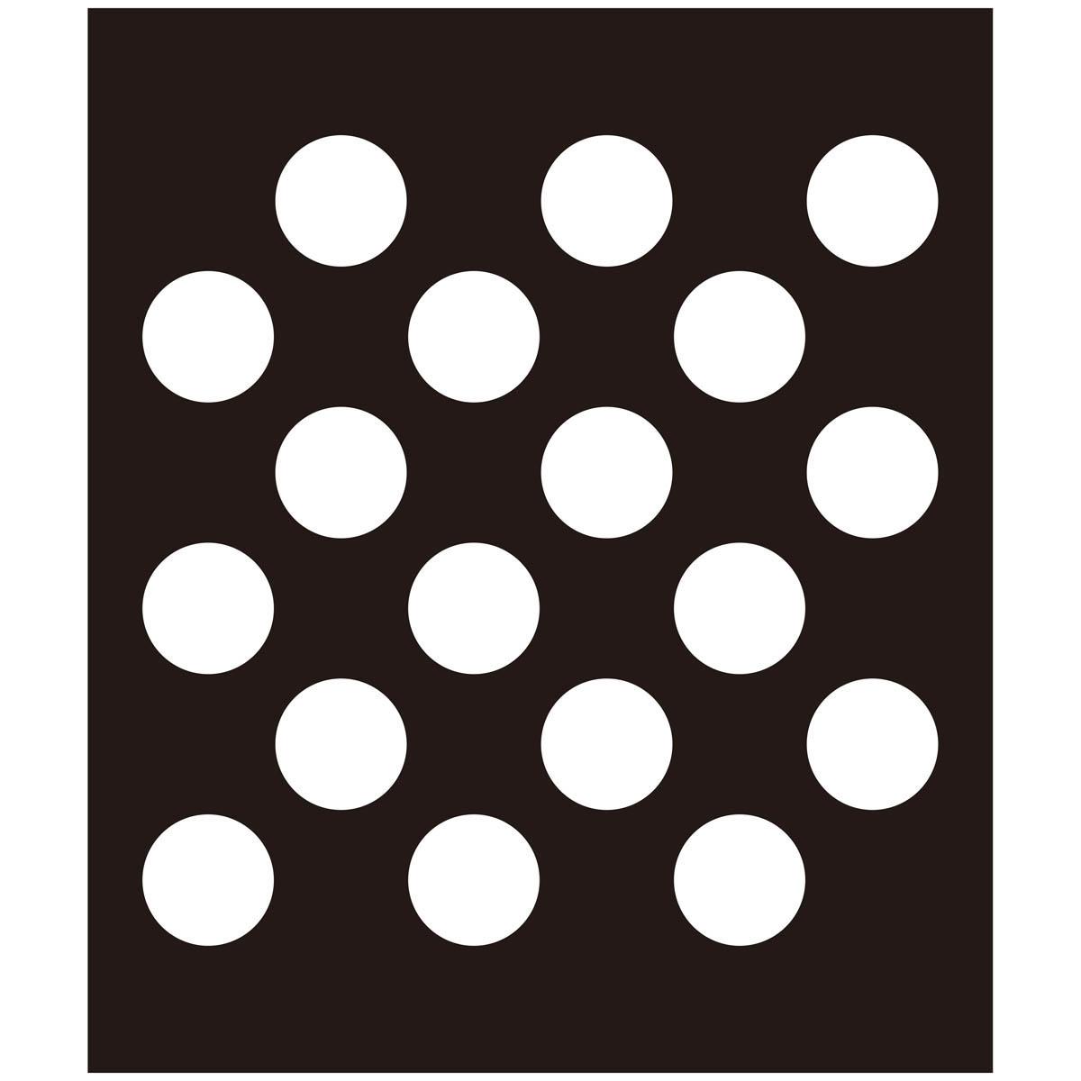 FolkArt ® Painting Stencils - Large - Polka Dot
