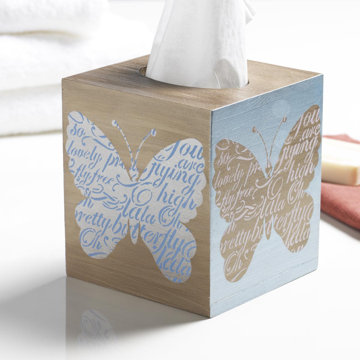 FolkArt ® Layering Stencils - Butterfly - 13233