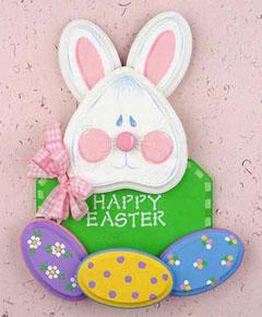 Bunny Door Decoration