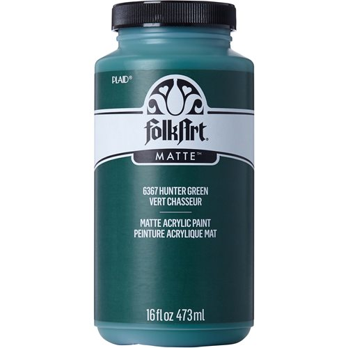 FolkArt ® Acrylic Colors - Hunter Green, 16 oz.