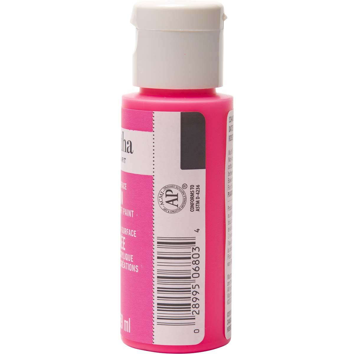 Martha Stewart® 2oz Multi-Surface Satin Acrylic Craft Paint - Date Night Pink