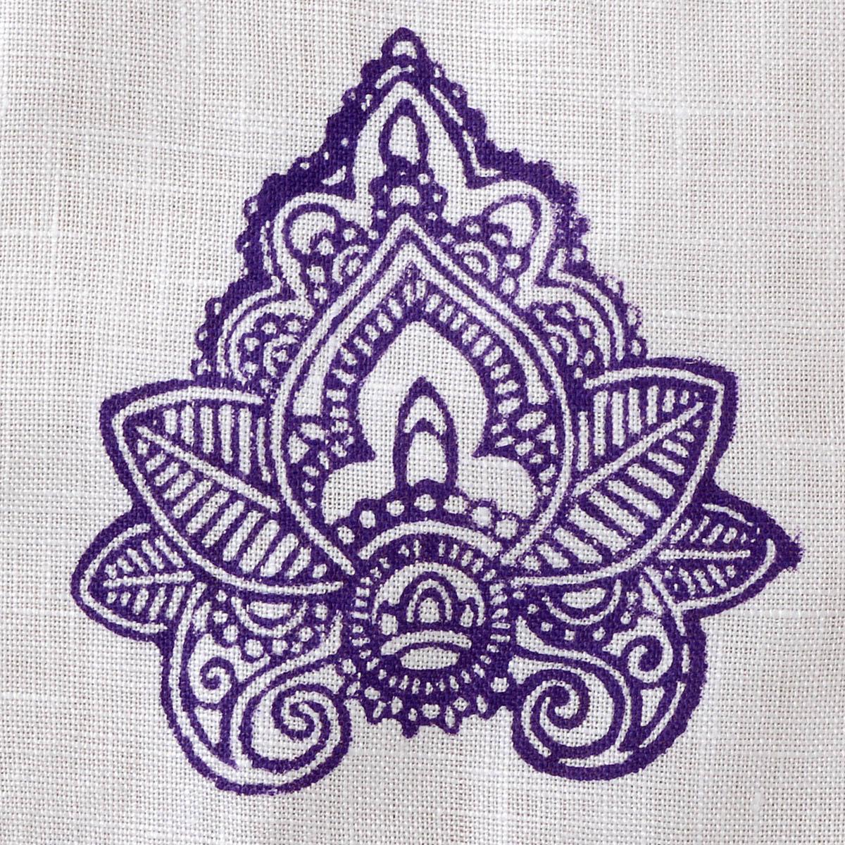 Fabric Creations™ Block Printing Stamps - Medium - Indian Leaf