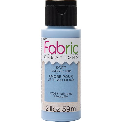 Fabric Creations™ Soft Fabric Inks - Pale Blue, 2 oz. - 27033