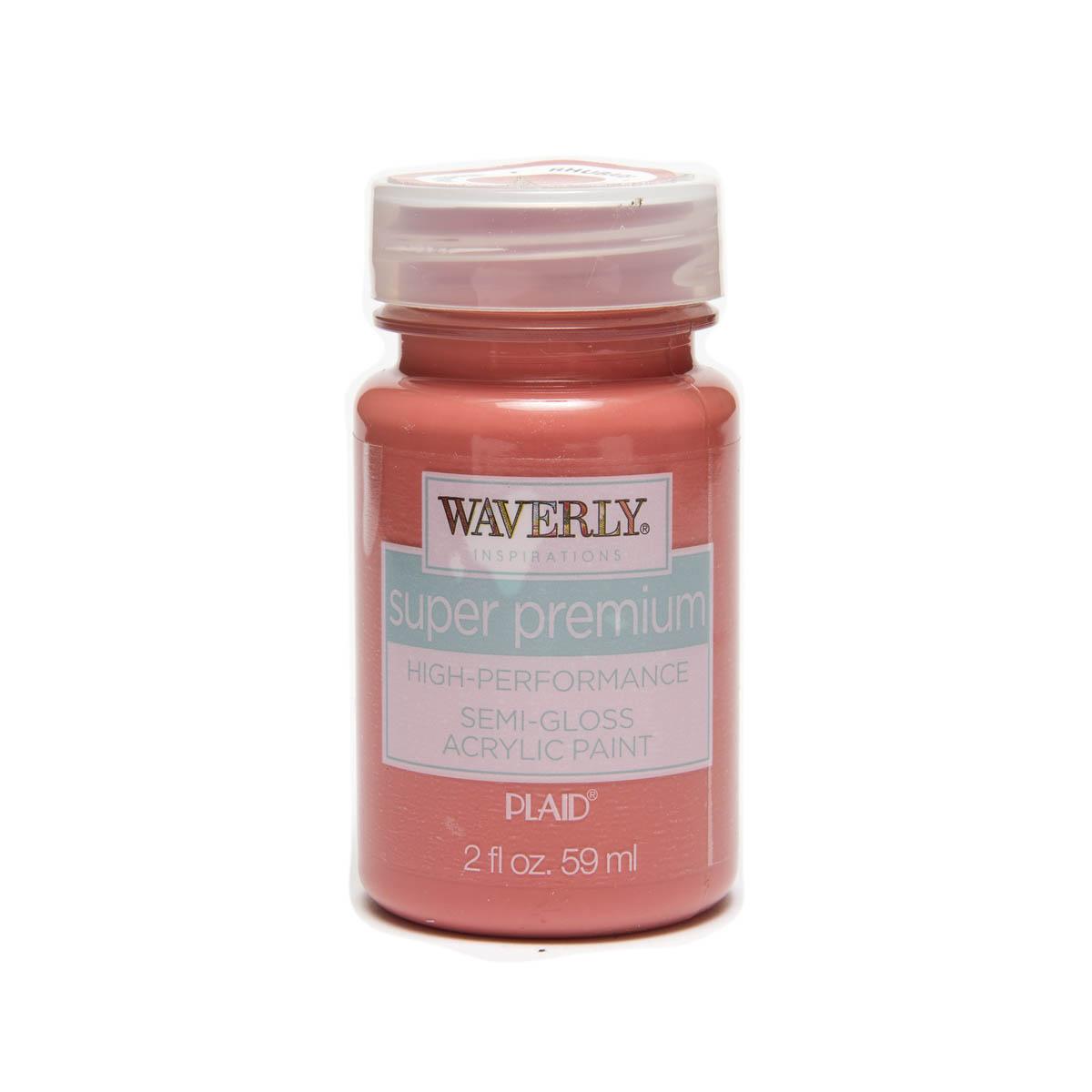 Waverly ® Inspirations Super Premium Semi-Gloss Acrylic Paint - Rhubarb, 2 oz.