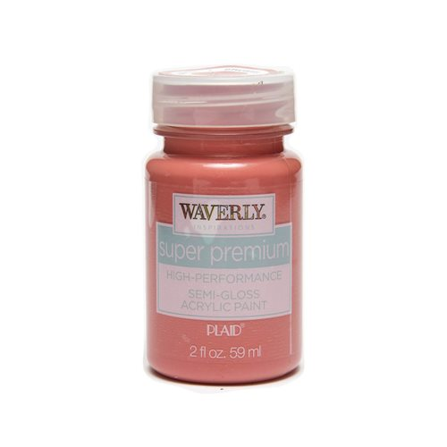 Waverly ® Inspirations Super Premium Semi-Gloss Acrylic Paint - Rhubarb, 2 oz.