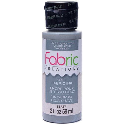 Fabric Creations™ Soft Fabric Inks - Grey Mist, 2 oz. - 25998