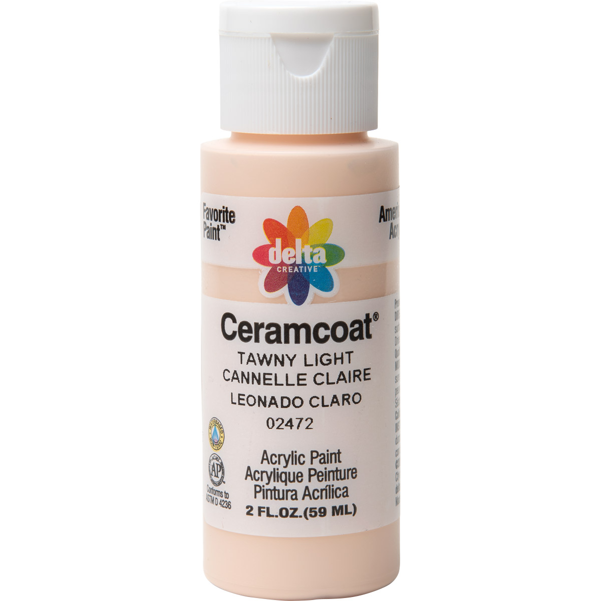 Delta Ceramcoat ® Acrylic Paint - Tawny Light, 2 oz. - 024720202W