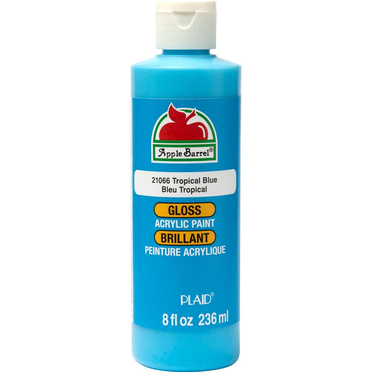 Apple Barrel ® Gloss™ - Tropical Blue, 8 oz. - 21066
