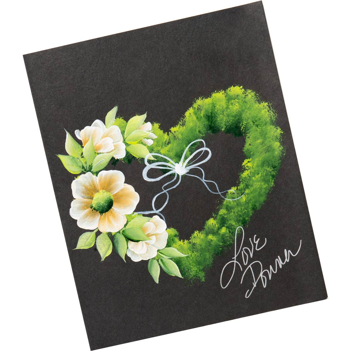 Let's Paint with FolkArt ® One Stroke™ Kit - Wreath of the Month - 99436