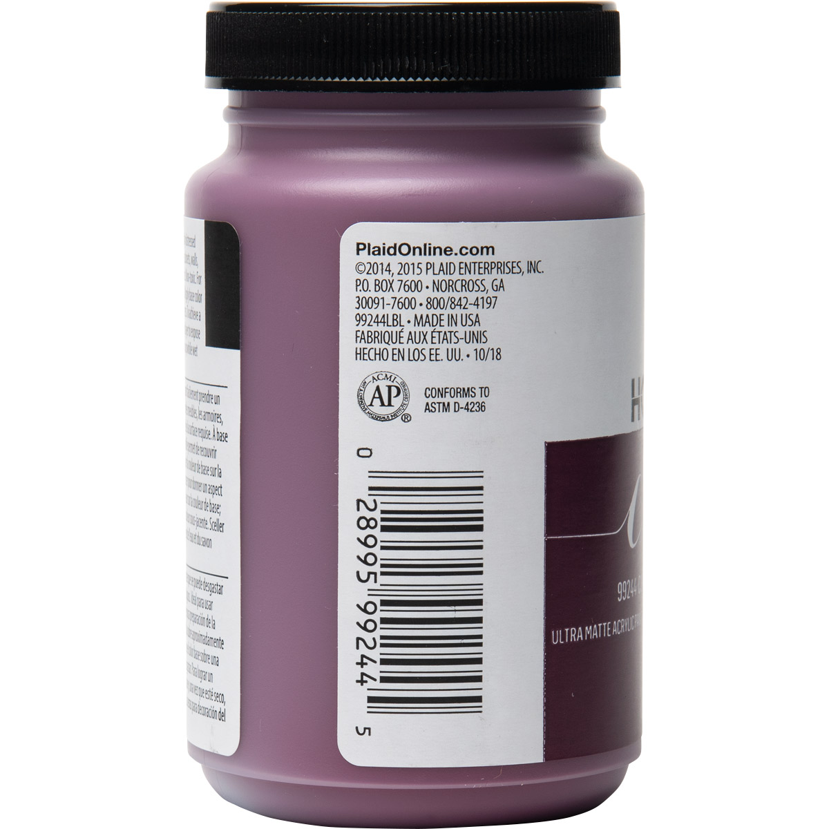 FolkArt ® Home Decor™ Chalk - Currant, 8 oz.