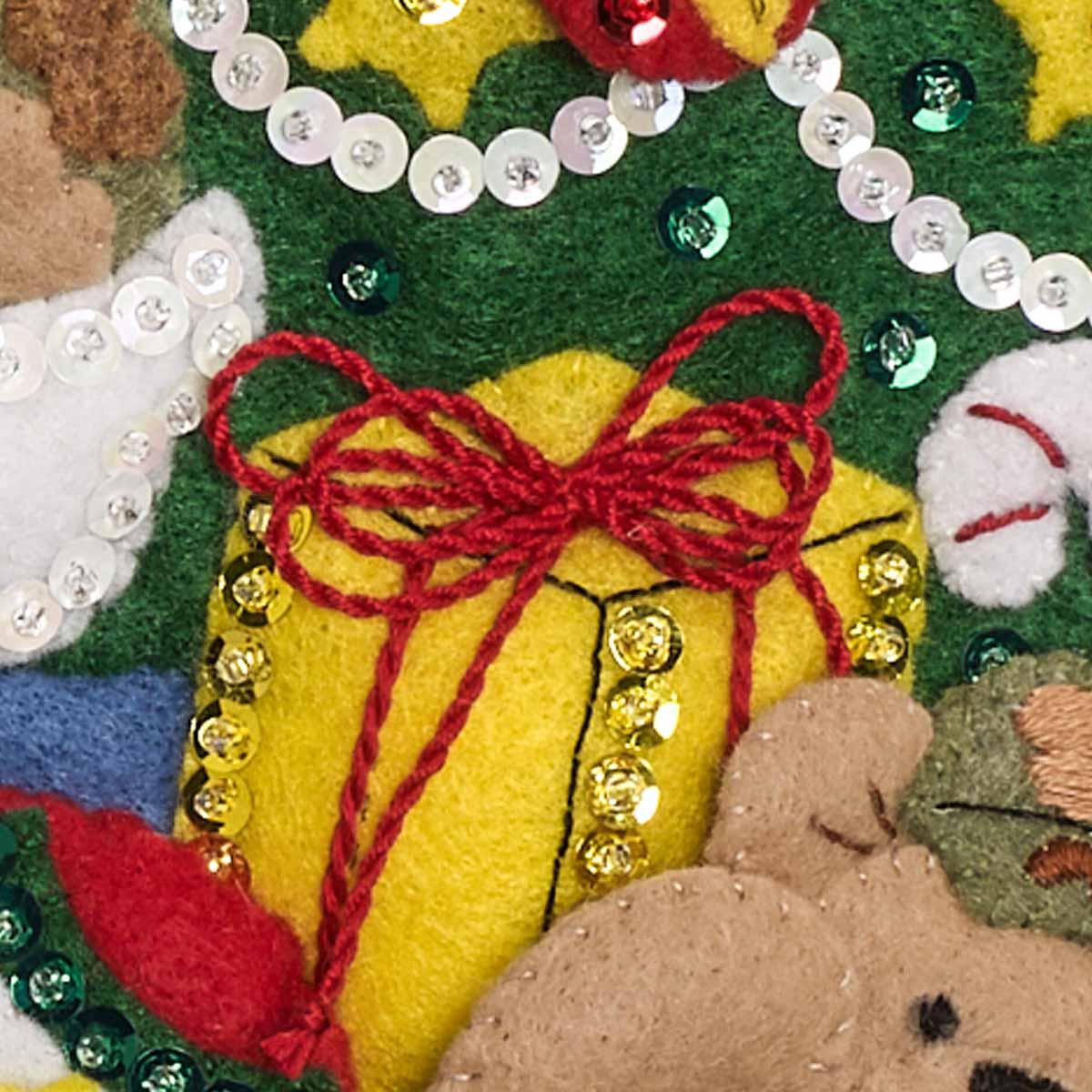 Bucilla ® Seasonal - Felt - Stocking Kits - Camo Santa - 86980E