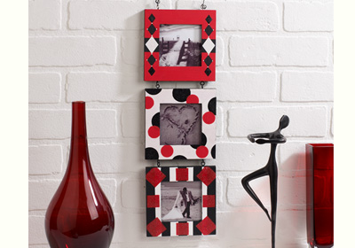 Patterns and Shapes Hanging Square Frames