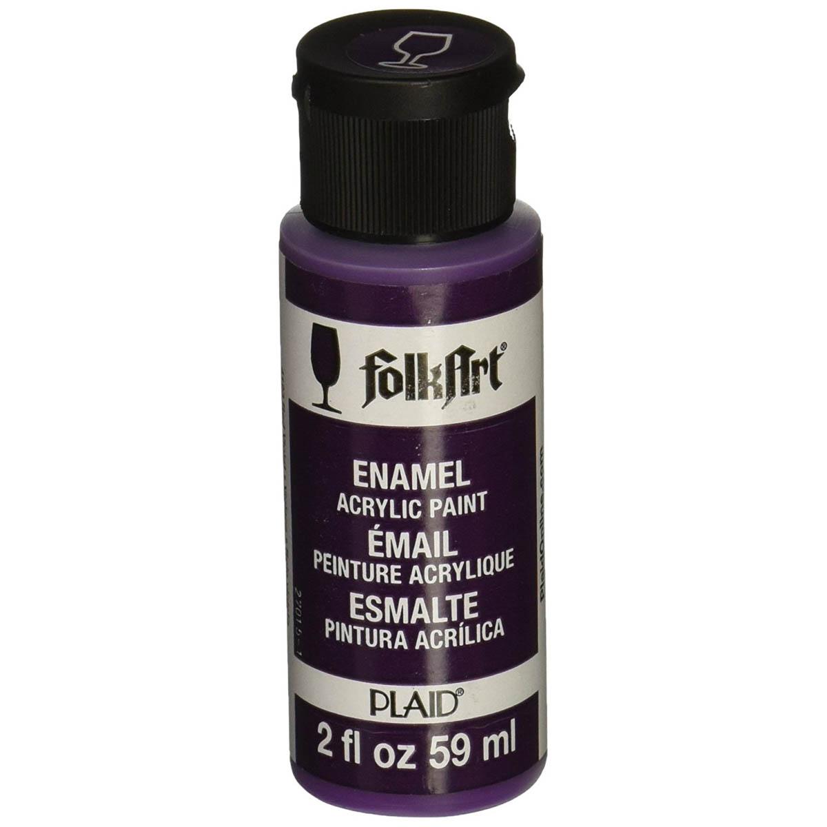 FolkArt ® Enamels™ - Red Violet, 2 oz. - 4123