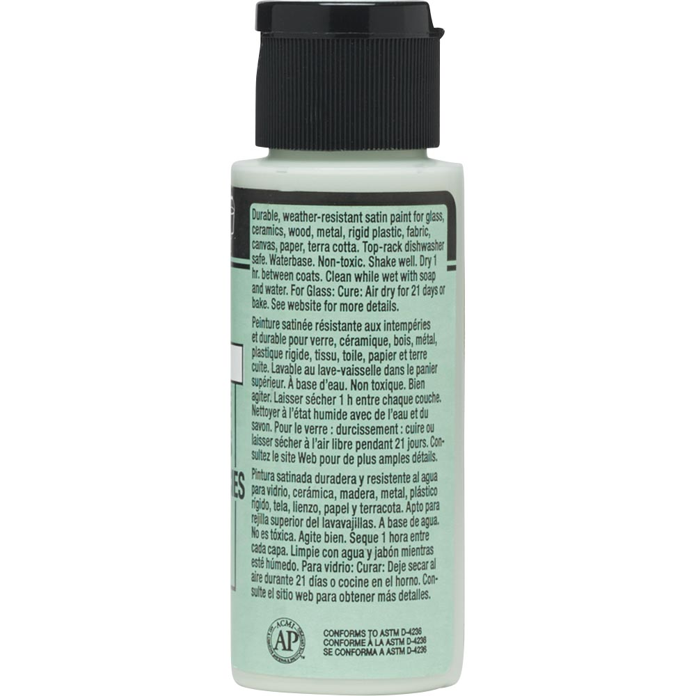 FolkArt ® Multi-Surface Satin Acrylic Paints - Green Sea, 2 oz.