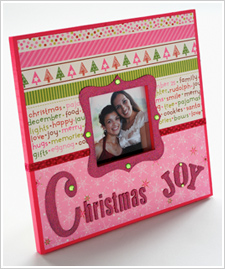 Christmas Joy Frame
