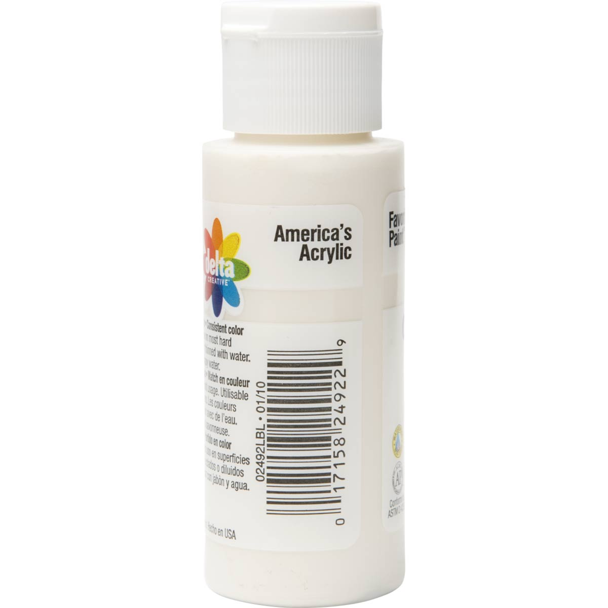 Delta Ceramcoat ® Acrylic Paint - Oyster White, 2 oz. - 024920202W