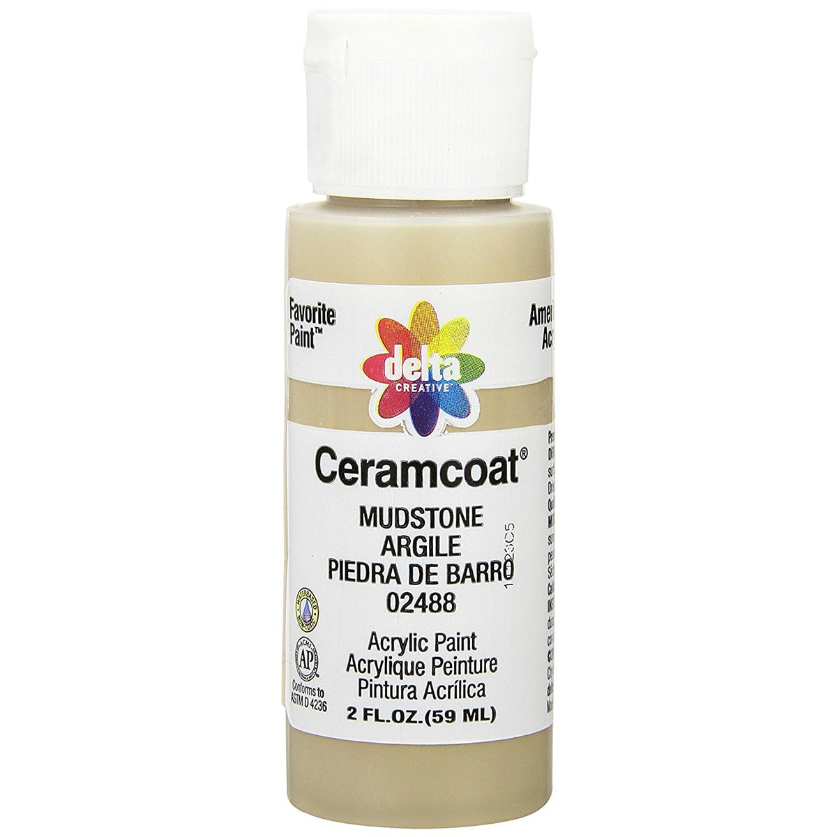 Delta Ceramcoat ® Acrylic Paint - Mudstone, 2 oz.