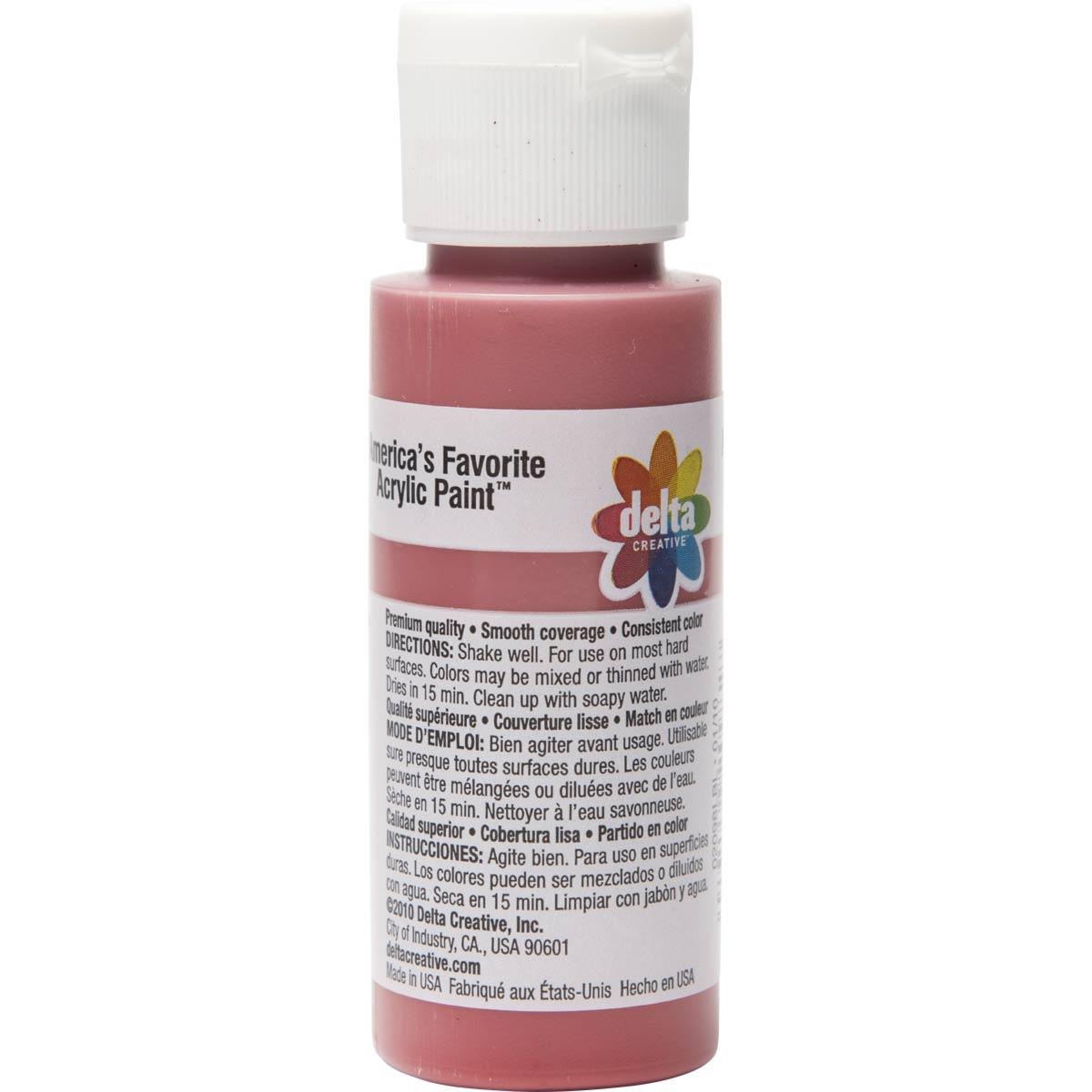 Delta Ceramcoat Acrylic Paint - Tomato Spice, 2 oz. - 020980202W