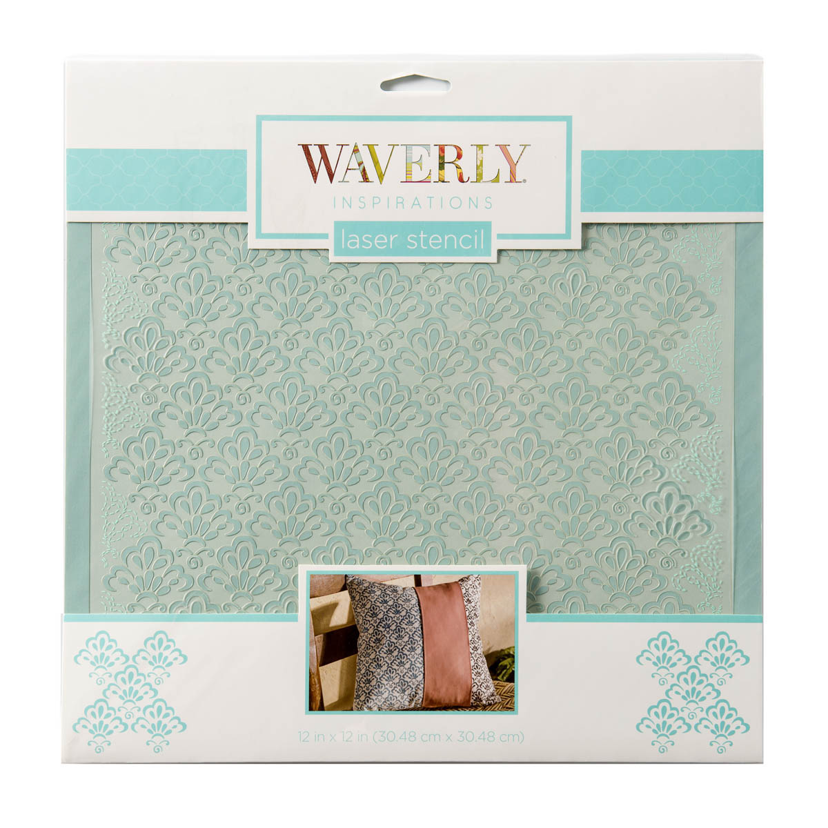 Waverly ® Inspirations Laser Stencils - Décor - Scallop, 12