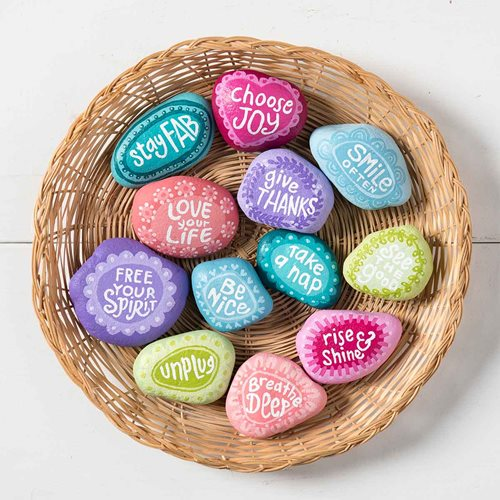 Feel-Good Painted Rocks DIY