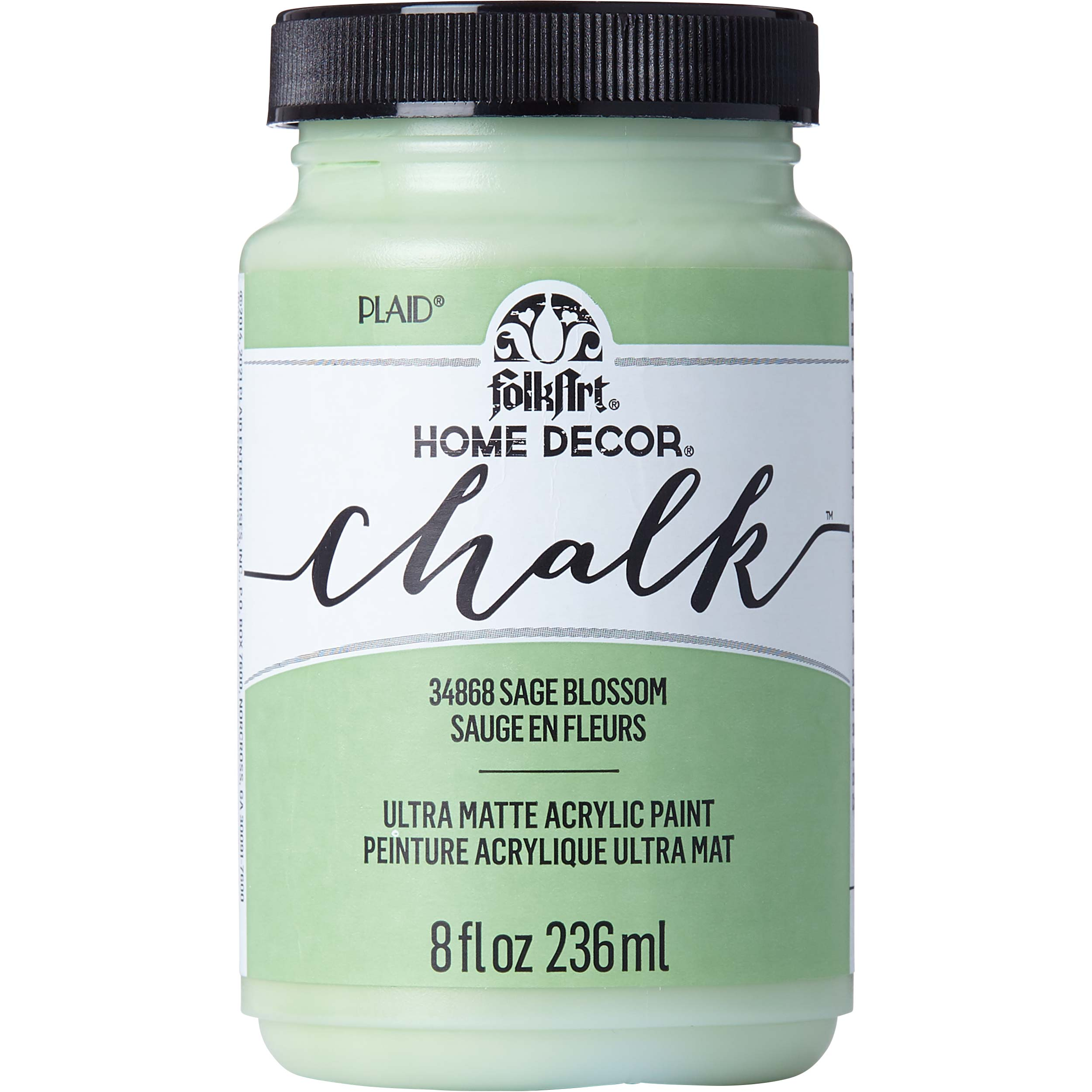 Shop Plaid Folkart Home Decor Chalk Sage Blossom 8 Oz 34868 34868 Plaid Online
