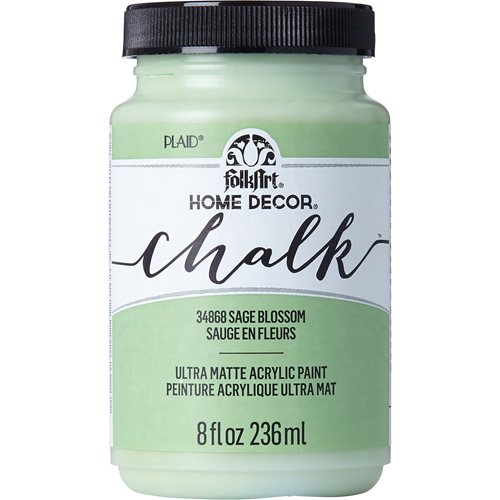 FolkArt ® Home Decor™ Chalk - Sage Blossom, 8 oz. - 34868