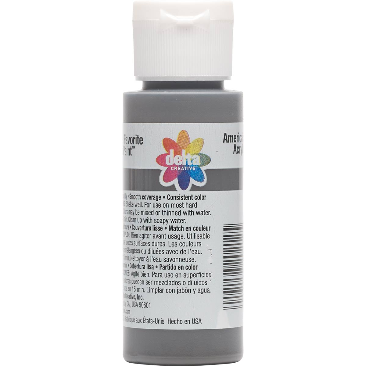 Delta Ceramcoat ® Acrylic Paint - Dark Chocolate, 2 oz.