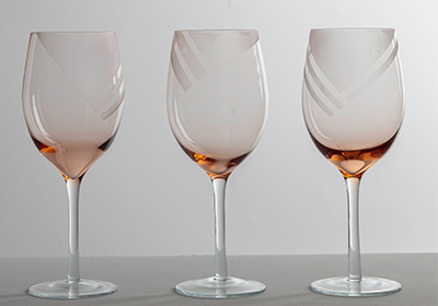 Wine Glass Etching DIY