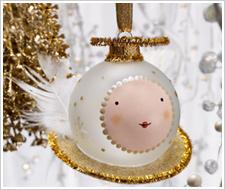 Angel Glass Ornament