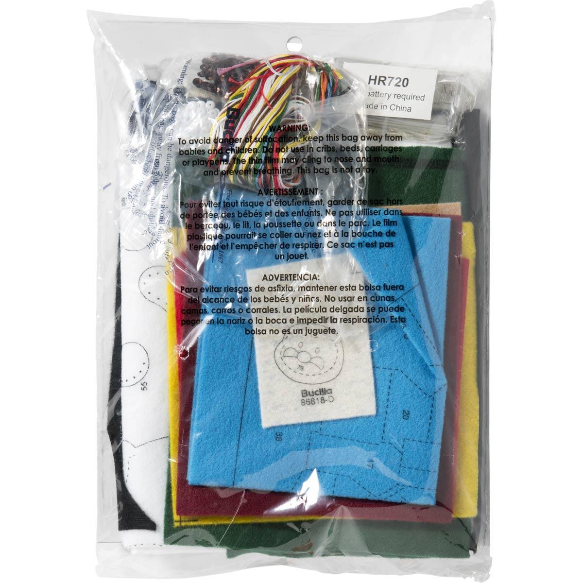 Bucilla ® Seasonal - Felt - Stocking Kits - Christmas Village - 86818