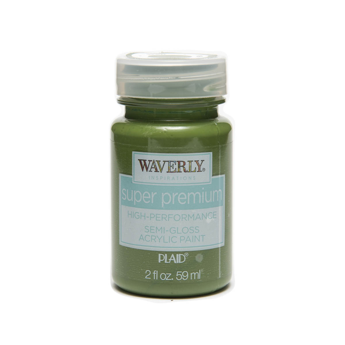 Waverly ® Inspirations Super Premium Semi-Gloss Acrylic Paint - Fern, 2 oz.