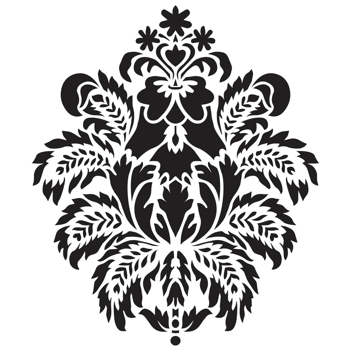 Waverly ® Inspirations Laser Stencils - Décor - Damask, 12