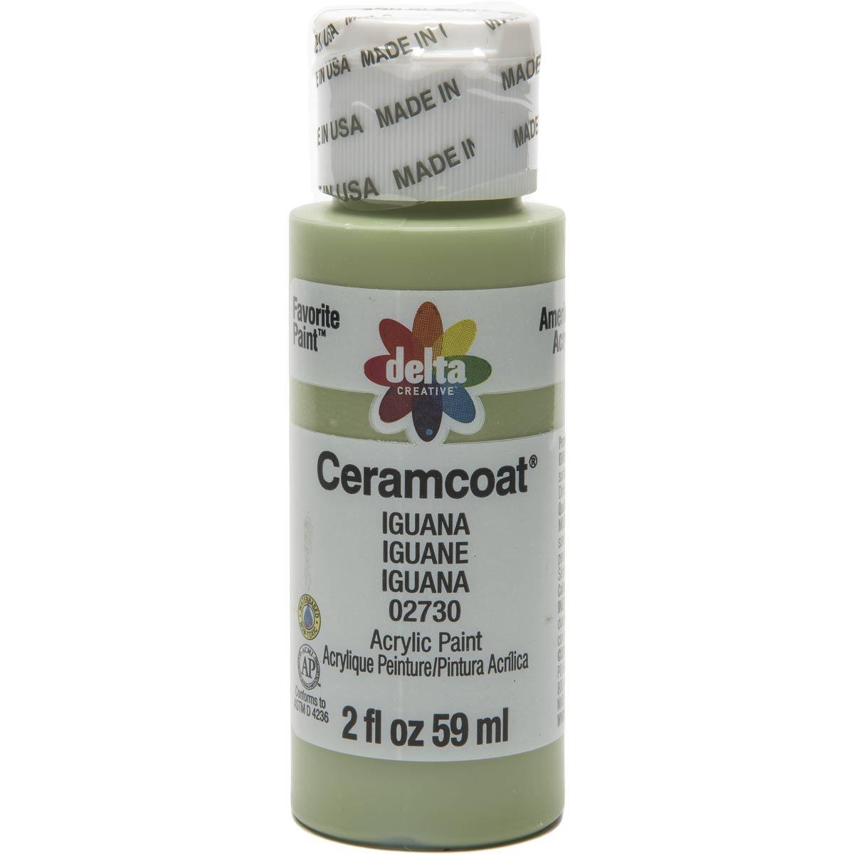 Delta Ceramcoat ® Acrylic Paint - Iguana, 2 oz. - 02730