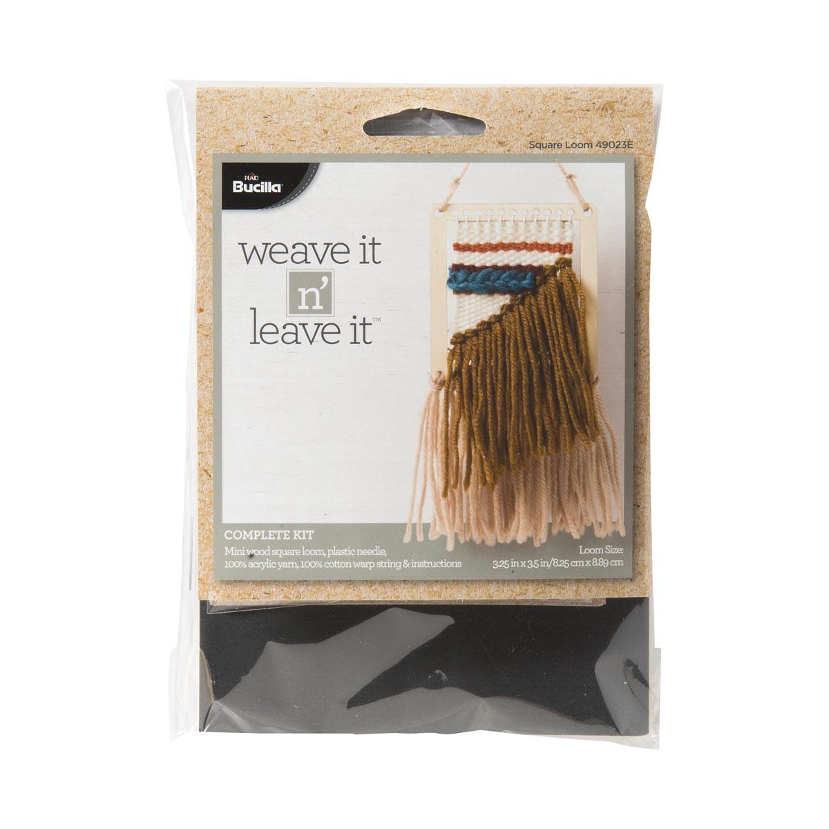 Bucilla ® Weave It n' Leave It™ Square Loom