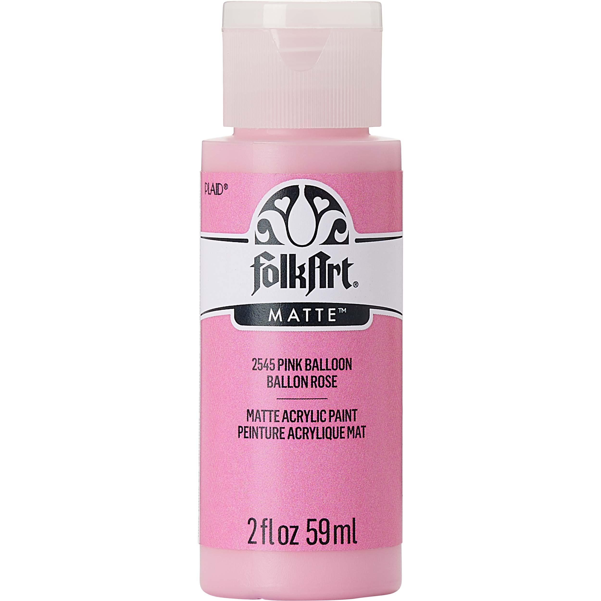 FolkArt ® Acrylic Colors - Pink Balloon, 2 oz. - 2545