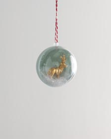 Ornament Gift Toppers