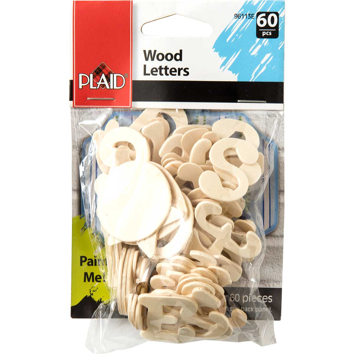 Plaid ® Wood Surfaces - Letter Packs - Cursive