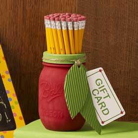 Mason Jar for Teacher Appreciation
