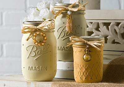Country Vintage Ball Jars