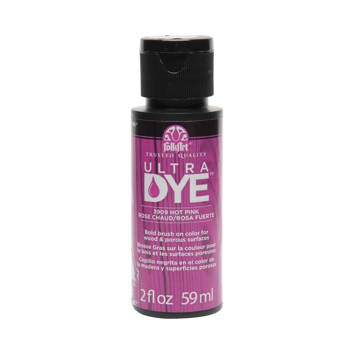 FolkArt ® Ultra Dye™ Colors - Hot Pink, 2 oz. - 3909