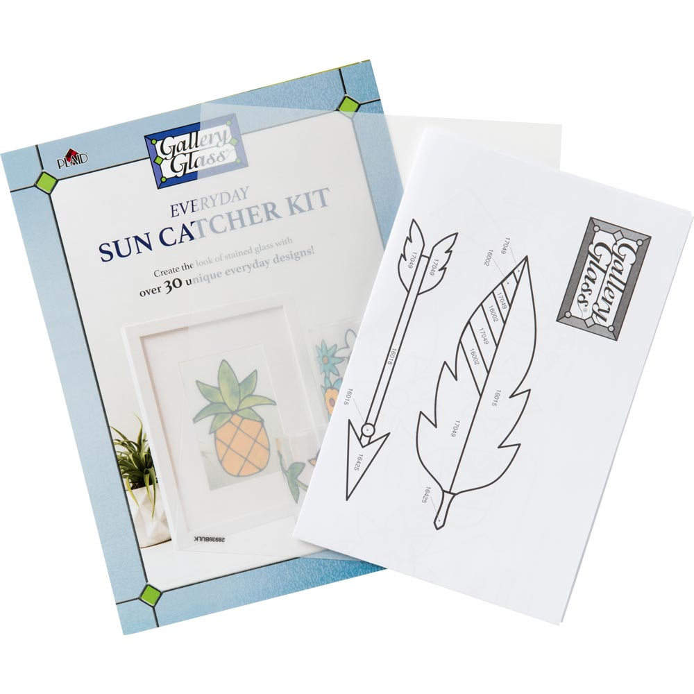 Gallery Glass ® Suncatcher Set - Beginner