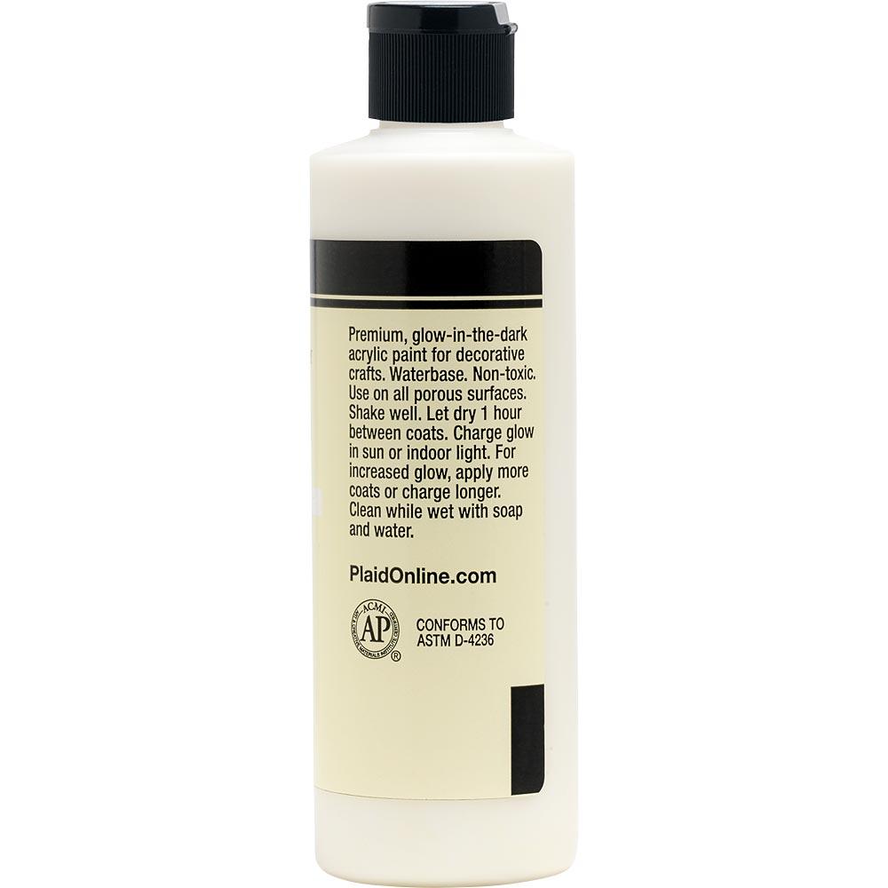 FolkArt ® Glow-in-the-Dark Acrylic Colors - Neutral, 8 oz.