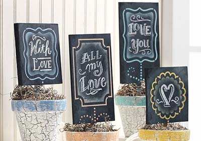 Fab Frame Planter Markers