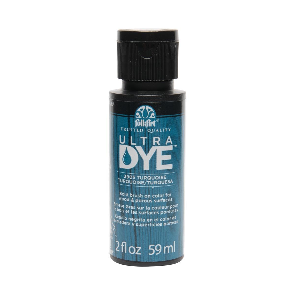 FolkArt ® Ultra Dye™ Colors - Turquoise, 2 oz.