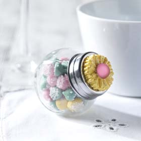 DIY Wedding Favor - Mini Candy Jars