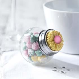 DIY Wedding Favor - Mini Candy Jars