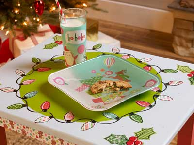 Festive Holiday Kid's Table