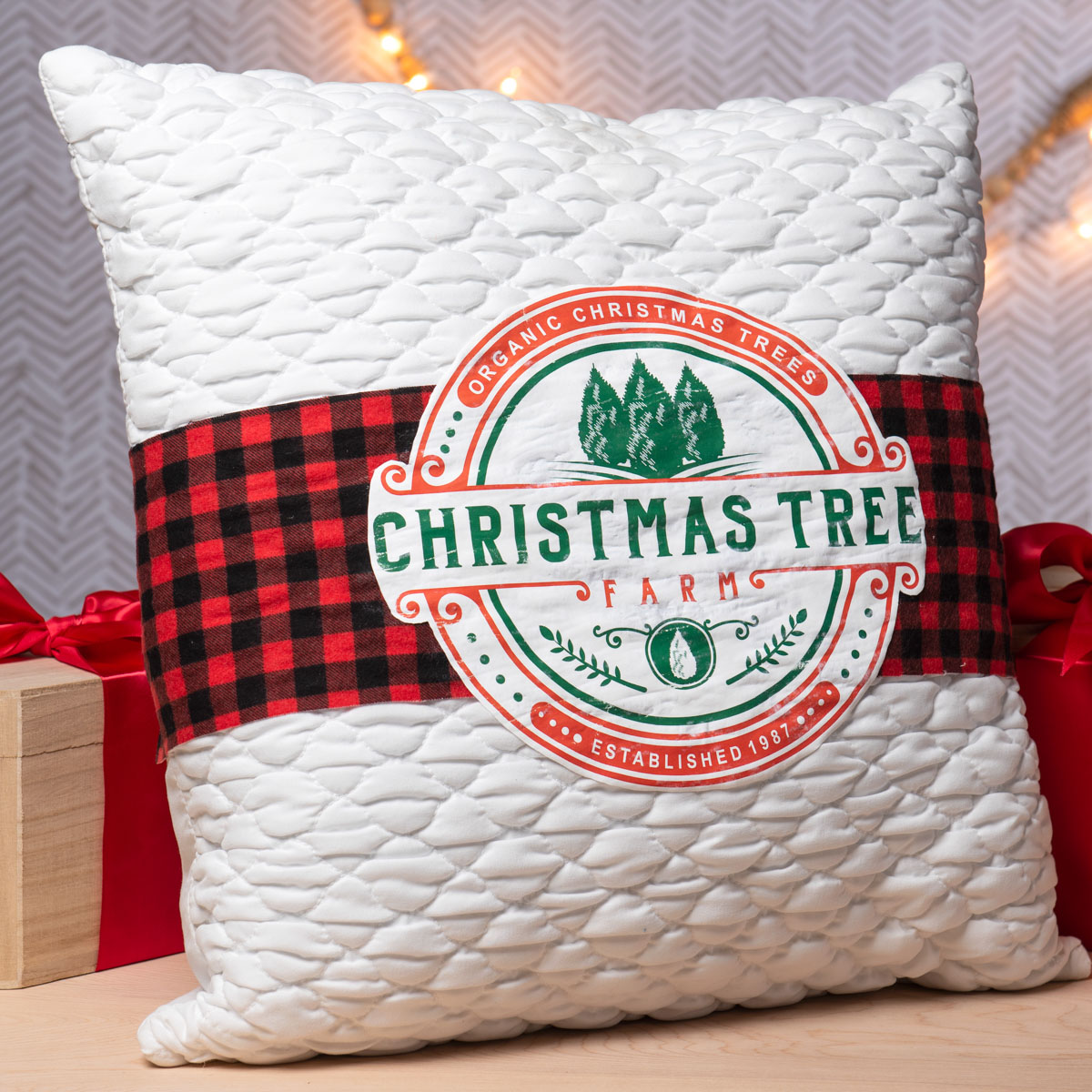 Christmas Tree Farm Pillow